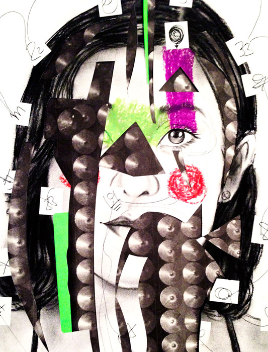 collage portrait
